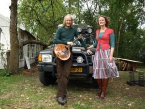 Linde Nijland & Bert Ridderbos in de Mariakerk in Oosterwijtwerd op 25 mei