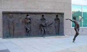 feedom sculpture