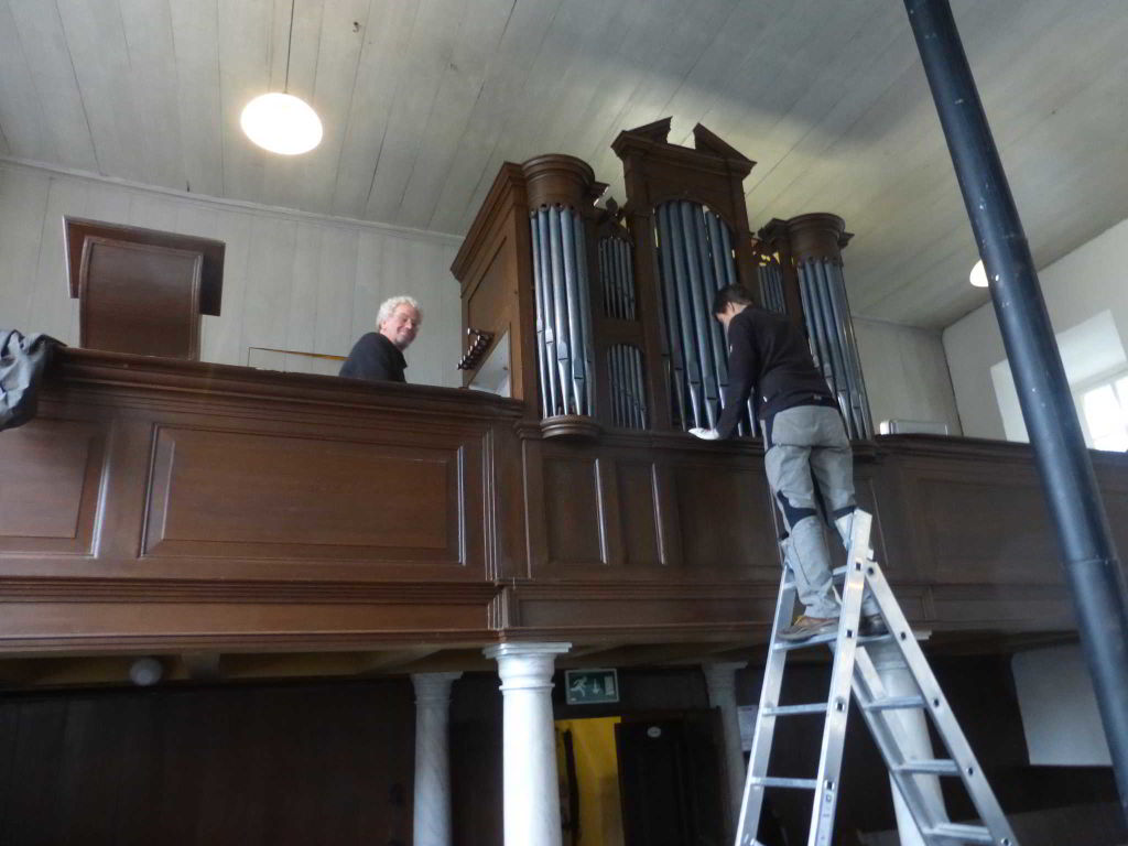 orgel klinkt weer