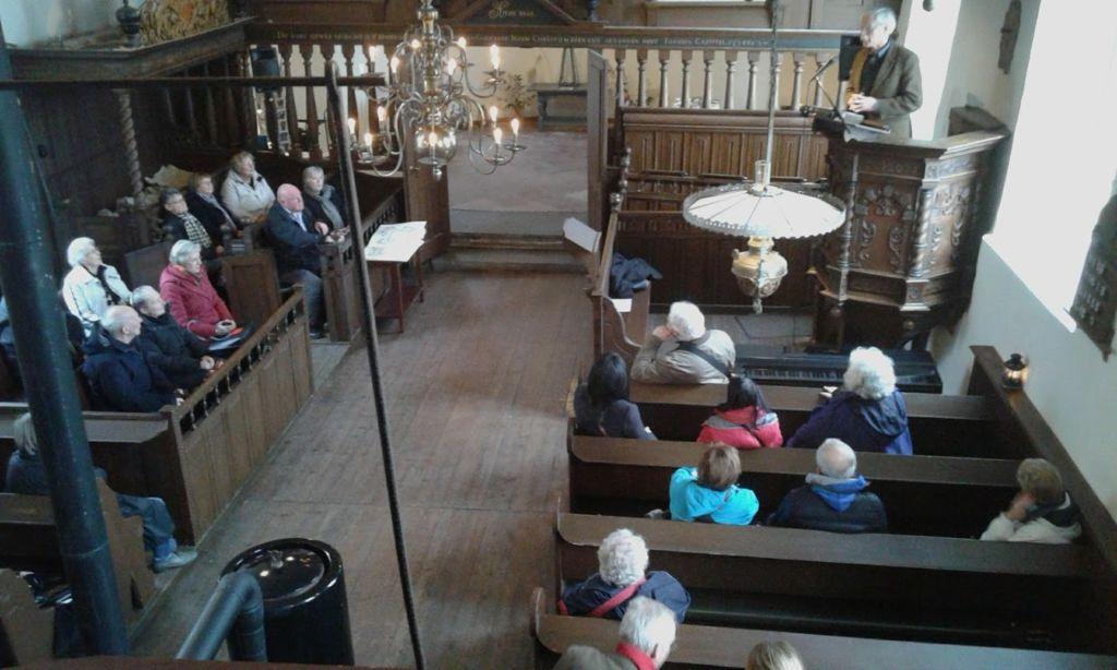 SOGK donateurs bezoeken kerk