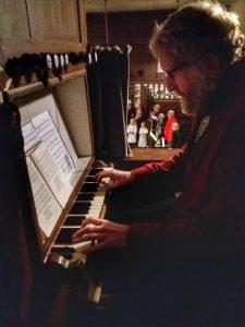 kerstviering 2018 organist