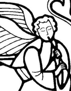 kersviering engel